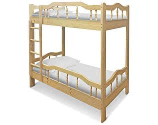 Купить кровать ВМК-Шале Джерри двухъярусная